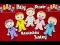 BEBES NIÑO Y NIÑA PARA BABY SHOWER EN FOAMY O GOMA EVA