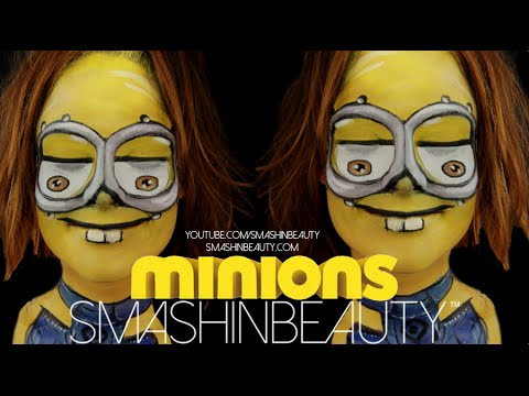 Minions 2015 Face Paint Tutorial Halloween