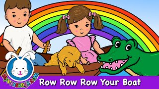 Row Row Row Your Boat - With Lyrics