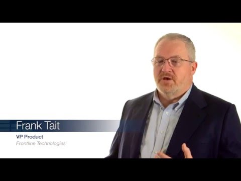 Frank Tait – Frontline Technologies