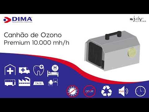 Canhão de Ozono Premium 10.000 mg/h