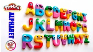 ABC Play Doh Colorful Alphabet  - Learn the Alphabet - Easy Play Doh Channel