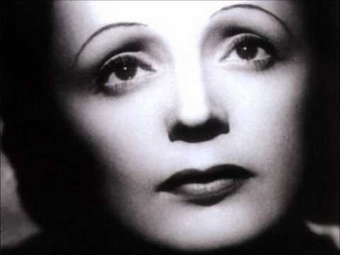 Je - Piaf dedicated her recording of the song to the French Foreign Legion.At the time of the recording, France was engaged in a military conflict, the Algerian W...