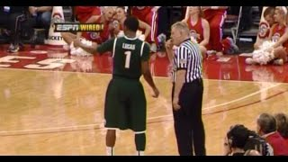 Listen in on the different approach that these wired college basketball referees takes in the NCAA tournament, as they have to teach the players as they ref the games.