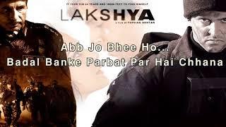 Kandhon Se Milte Hain Kandhe from Lakshya with Lyrics and Video