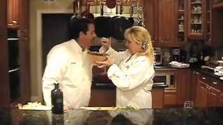 http://johnandshirleyscatering.com/our-brands/ Chefs John and Shirley show how to keep Guacamole fresh and prepare Shirley's Famous Swamp Salsa.