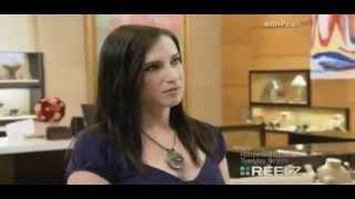lauren byrnes Tv show clip, Beverly hills Pawn.