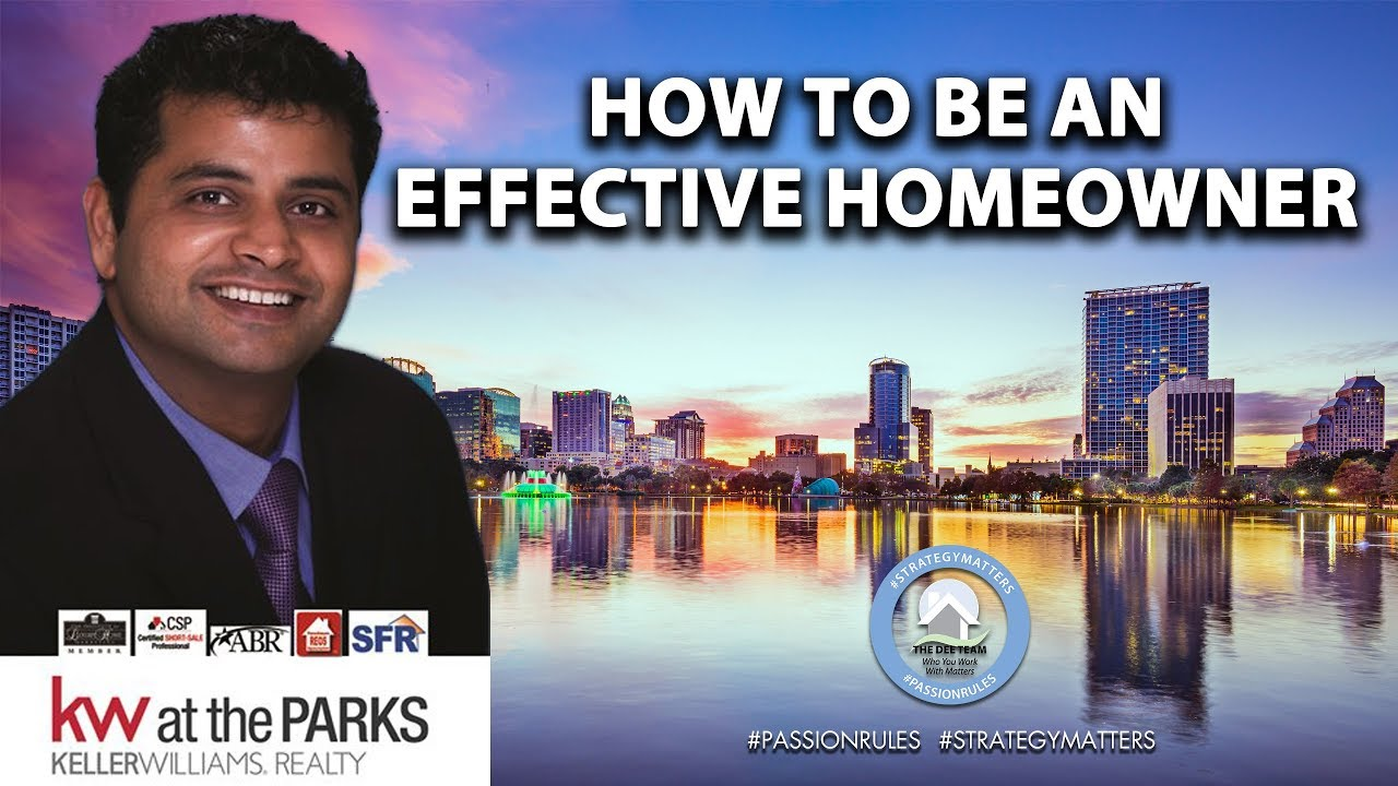 How to Be an Effective Homeowner