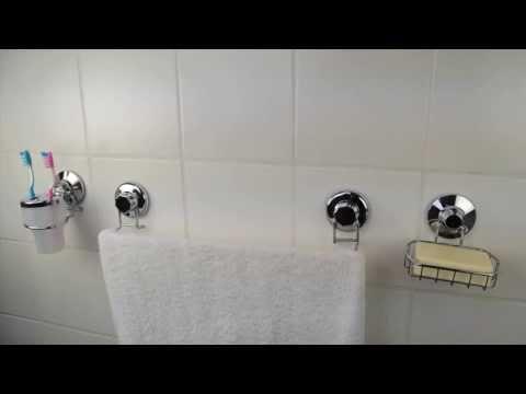 Les accessoires muraux pour salle de bain par Eco Power Line
