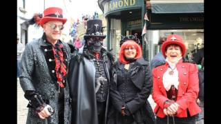 Another great day at Whitby and a pleasure to mingle with the Victorian vampires, rockers, punks and members of the steampunk ...