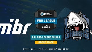 MIBR vs Sharks - ESL Pro League S8 Finals - bo1 - de_inferno [TheCraggy & SSW]