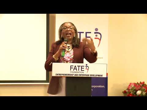 Ibukun Awosika on Building Sustainable Businesses at the 1st FATE Alumni Conference