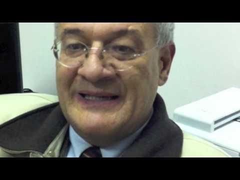 Intervista a margine della lezione tenutasi nell'ambito del Master Universitario in Peace Building Management a.a. 2010-11