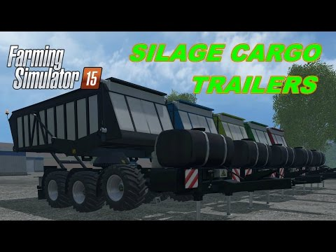Silage Cargo Trailers v1.0