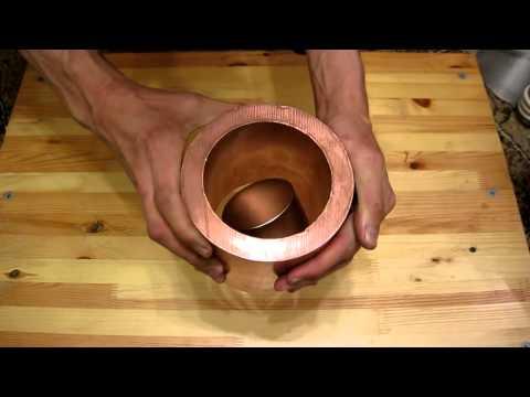 Вот что будет если бросить магнит в медную трубу... - DomaVideo.Ru