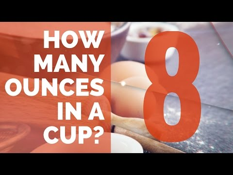 How Many Ounces in a Cup - Conversion Guide