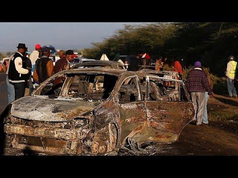 Κένυα: Πολύνεκρη καραμπόλα και έκρηξη βυτιοφόρου