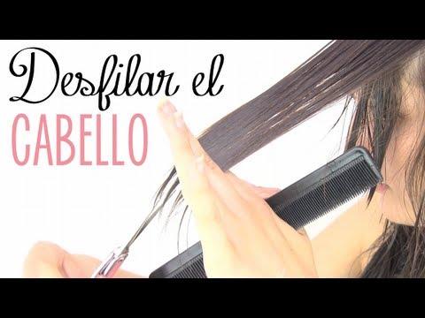 ¿Cómo cortar el cabello desfilado?