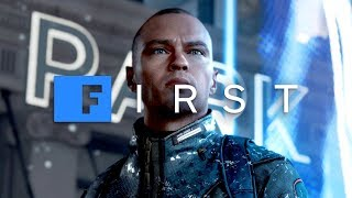 Detroit: Become Human - 'Android Grave' EXCLUSIVE GAMEPLAY SCENE With David Cage - IGN First by IGN