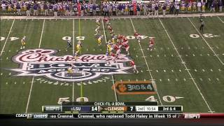 Kevin Minter vs Clemson (2012 Bowl)