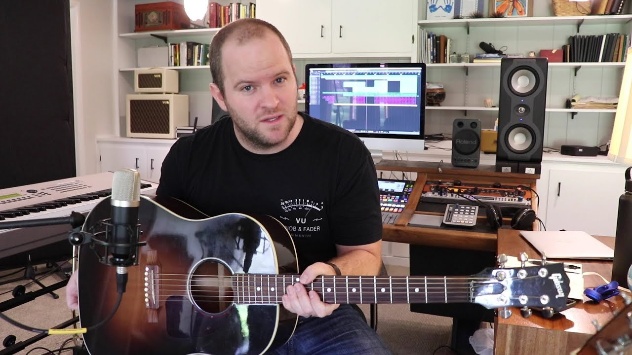 How to Record Better Acoustic Guitar Parts