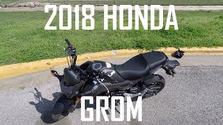 4. 2018 Honda Grom Review