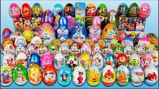 100 Jajko Niespodzianka | Cars SpongeBob MLP | Kinder Niespodzianki Frozen Minionki Jajka