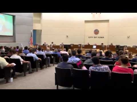 High school seniors come together at YUHSD board meeting to look back at accomplishments