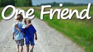 Video ONE FRIEND (Lyrics) - Dan Seals MP3, 3GP, MP4, WEBM, AVI, FLV April 2018