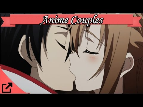 Top 10 Anime Couples (видео)