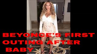BEYONCE OUT AFTER TWINS, WEIGHTLOSS WITH NO EXERCISE , DATE NIGHT WITH JAY Z.BEYONCE WEIGHTLOSS WITH NO EXERCISE AFTER TWINS  , DATE NIGHT WITH JAY Z