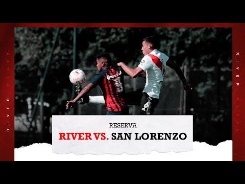 River vs. San Lorenzo [Reserva - EN VIVO]