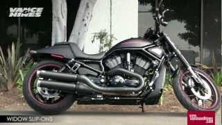 6. Widow Slip-Ons for 2012 Harley-Davidson Night Rod Special VRSCDX