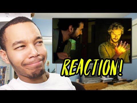 "Iron Fist Season 1 Episode 9 ""The Mistress of All Agonies"" REACTION!"