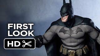Batman: Arkham City - First Look - Batman And Robin Action Figure Statues HD