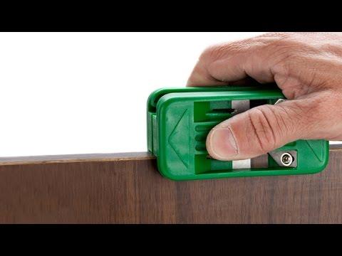 HAND IRON FOR EDGE BANDING (видео)