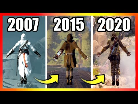 Jumping From the HIGHEST Points | Assassin's Creed Games (2007-2020)