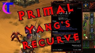Video Diablo III 2.6.1 - Crafting a Primal Ancient Yang's Recurve MP3, 3GP, MP4, WEBM, AVI, FLV November 2018