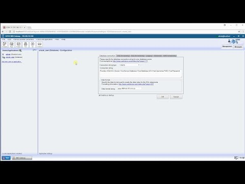 Send SMS from Oracle SQL - Configure Database User