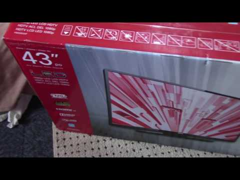 Sanyo 43 -inch LED HD Television (Unboxing)