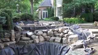 St. Charles (IL) United States  City new picture : Japanese Koi Pond Project @ St.Charles Illinois United States 2014