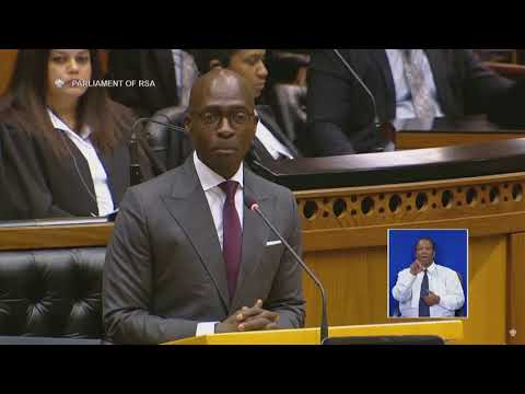 Gigaba jokes about his Candy Crush addiction and quotes Kendrick Lamar #budget2018