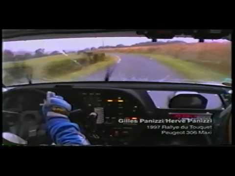 gilles panizzi su peugeot 306 maxi al rallye du torquet nel 1997