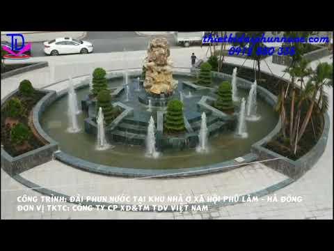 Dự án Đài phun nước khu nhà ở Phú Lãm - Hà Đông