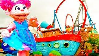 ЛУЧШИЕ ДЕТСКИЕ ПЛОЩАДКИ  Парк аттракционов Funny Outdoor Playground and entertainment for kids
