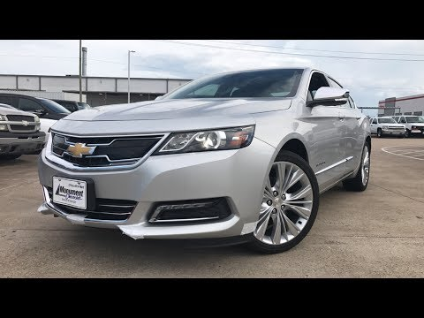 2018 Chevrolet Impala Premier (3.6L V6) - Review
