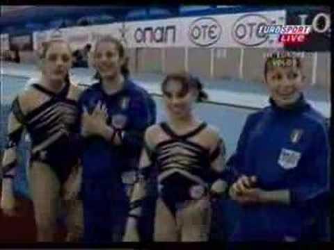 Campionati Europei di Volos 2006 il trionfo