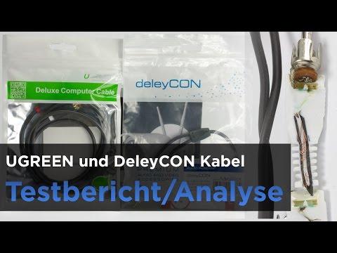 Cinch-Kabel im Test - DelayCON und UGREEN - Billiges Kabel mit Wackelkontakt aufgeschnitten