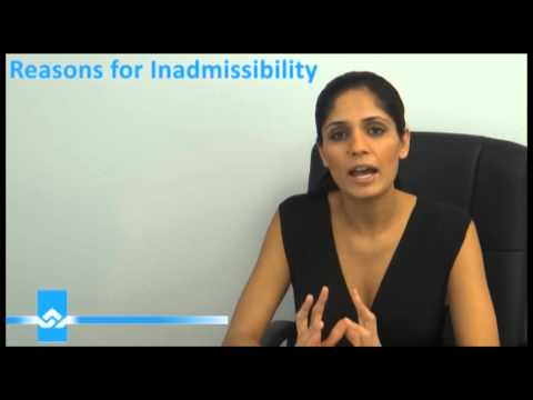 Reasons for Inadmissibility to Canada Video