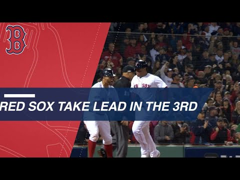 Video: Jackie Bradley Jr. and the Red Sox take the lead in the 3rd